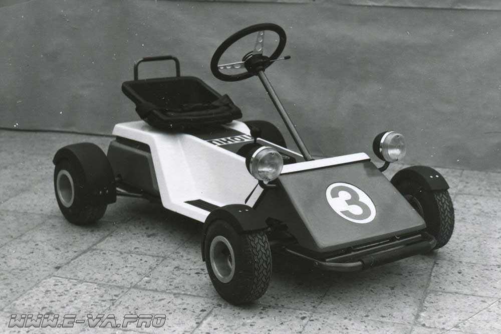 """Электрокарт ВАЗ """"Пони"""", 1981 год"""