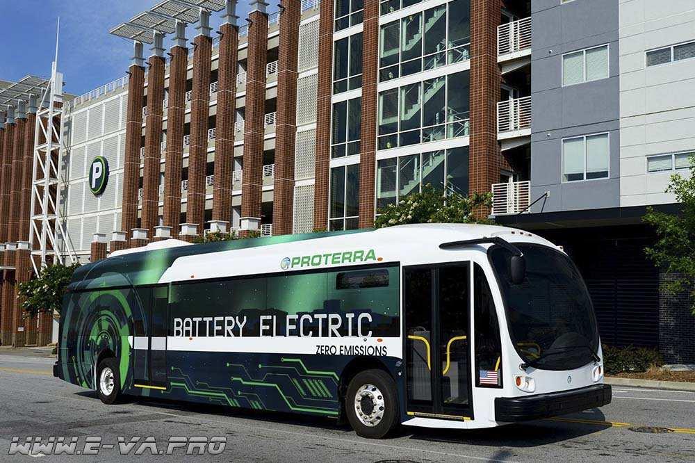Proterra выпустила мощный электробус