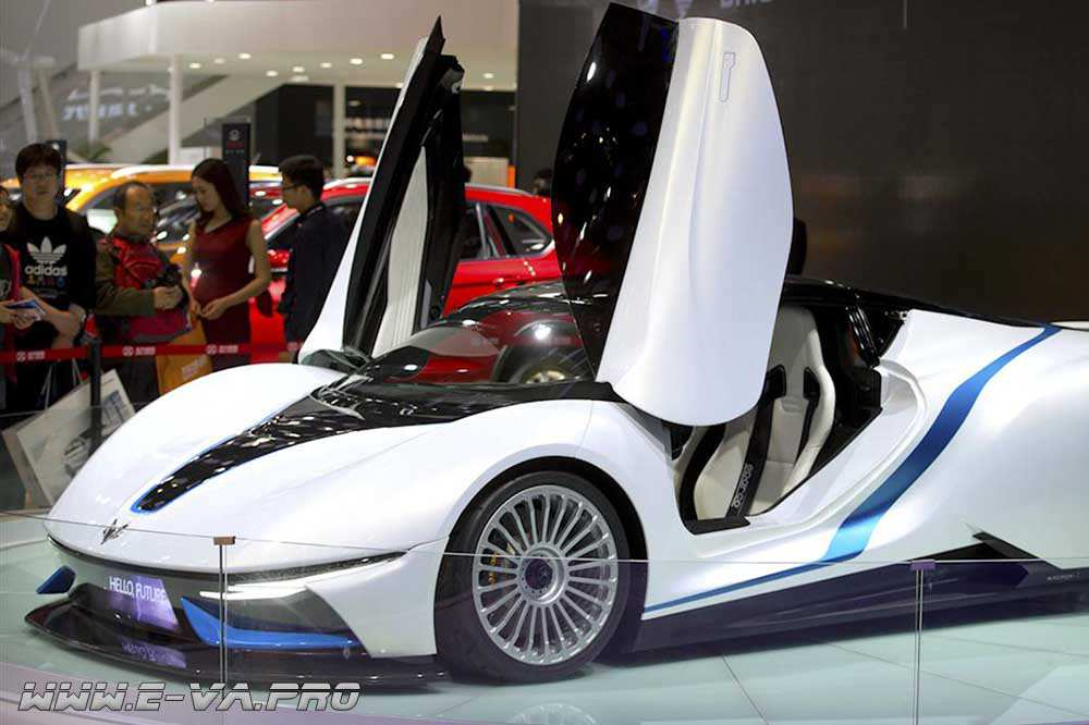 Электрический спорткар от Beijing Auto
