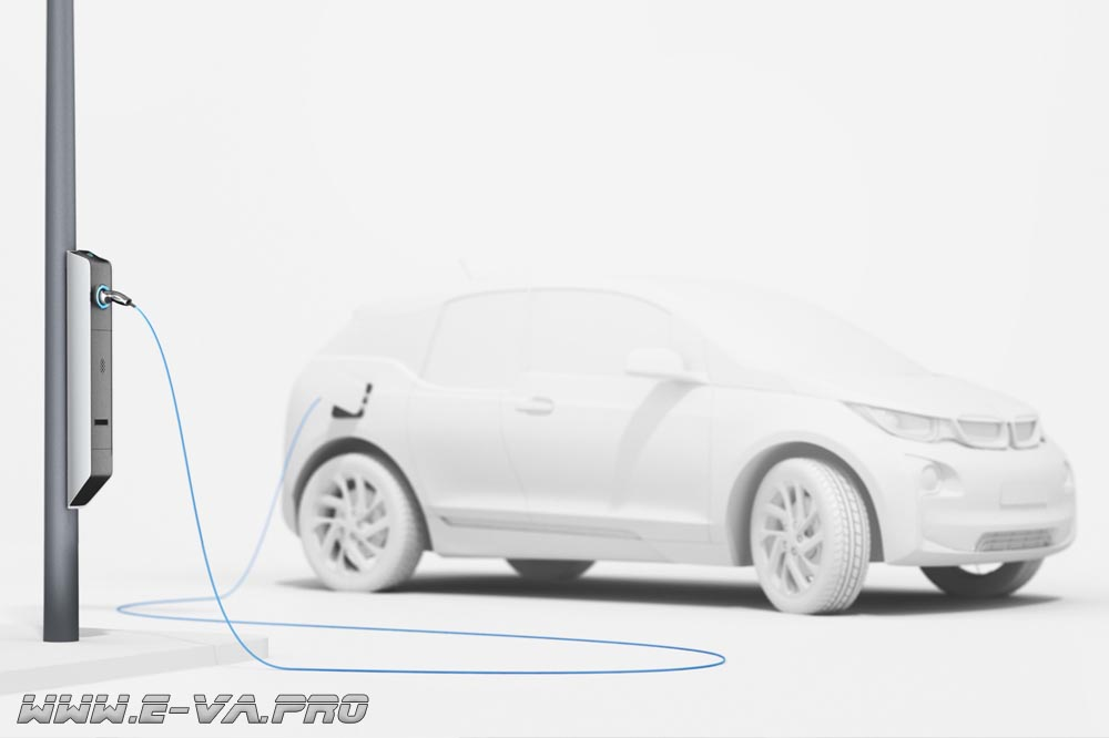 Электромобиль можно будет зарядить от фонарного столба