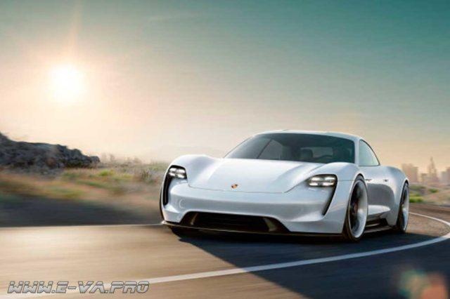 есть ли конкуренты у Tesla - Porsche Mission E