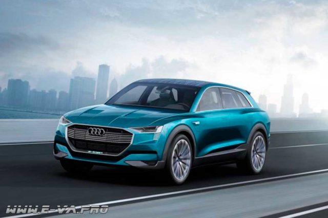 есть ли конкуренты у Tesla - Audi