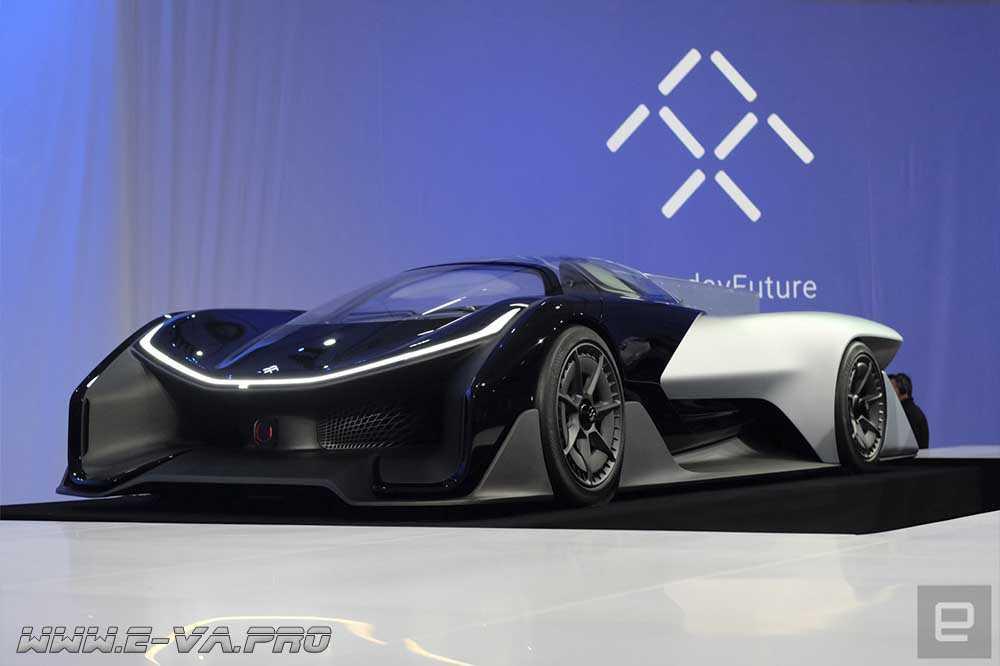 FFZERO1 – спорткар от Faraday Future, или «убийца Tesla»