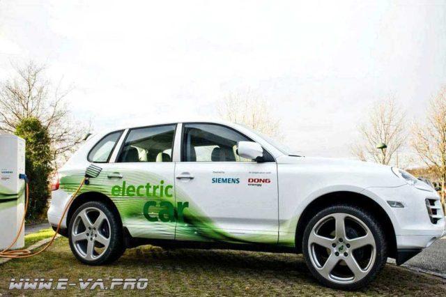 Porsche Cayenne выпустят в электрической версии.
