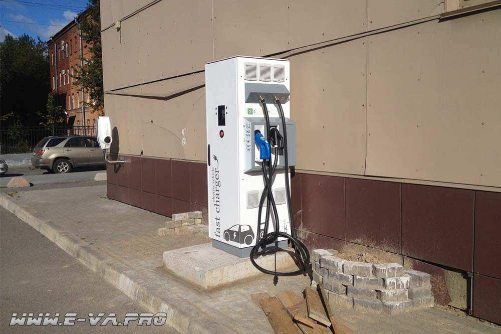 В Санкт-Петербурге откроют станцию быстрой подзарядки электромобилей
