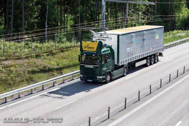 В Швеции появятся электротрассы