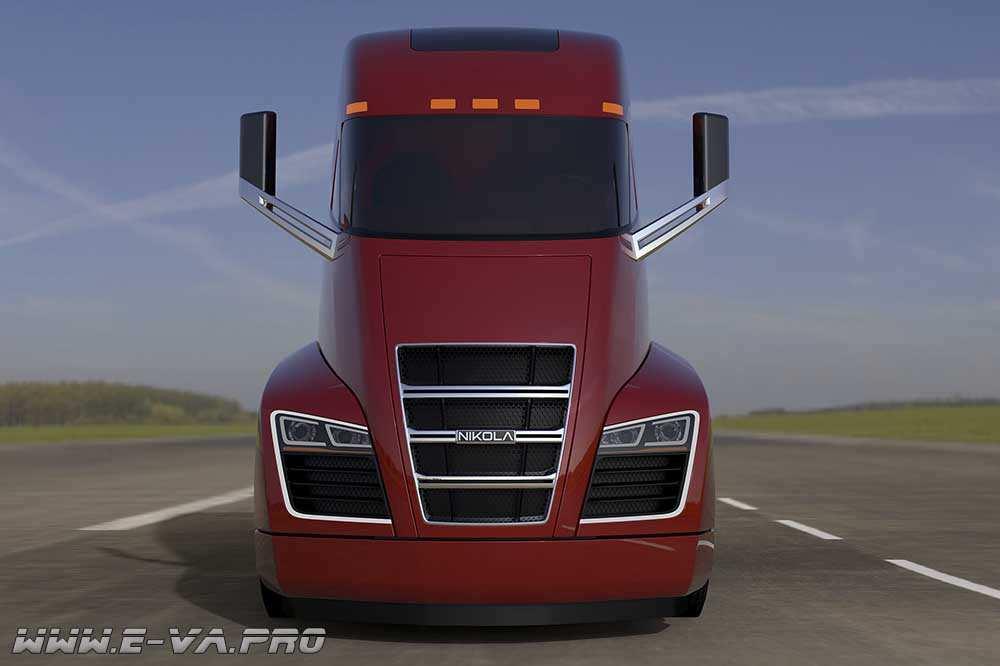 Электрический тягач - грузовик NIKOLA ONE