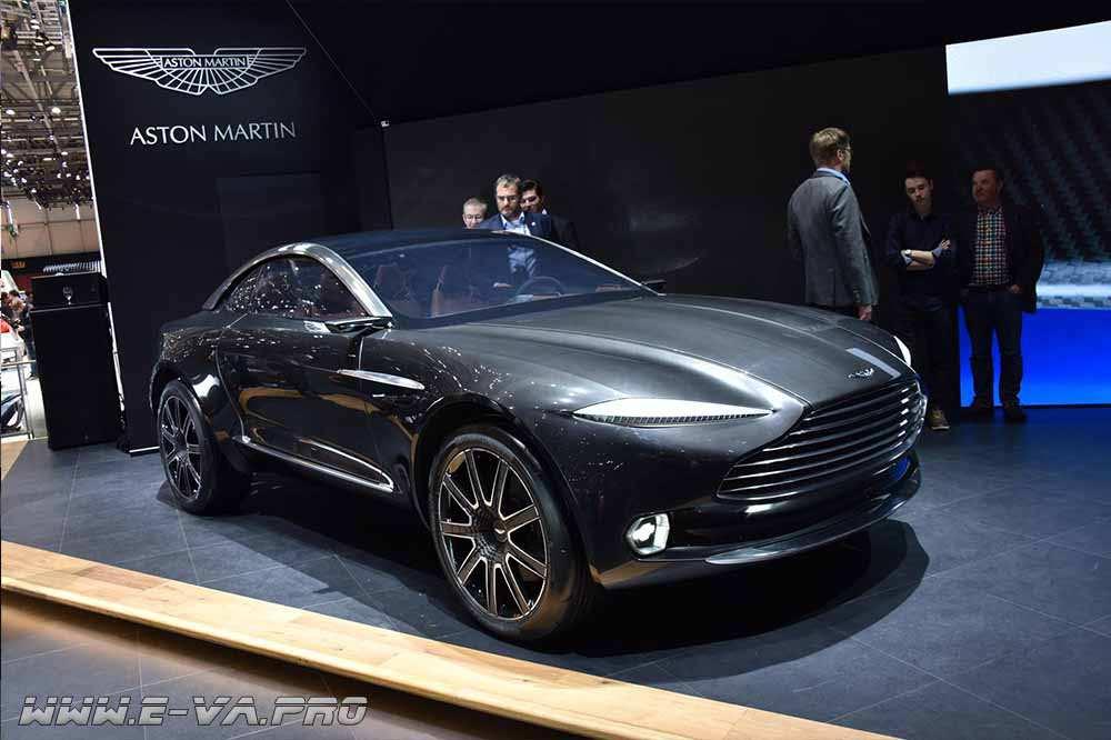 Aston Martin и электродвигатели в колёсах