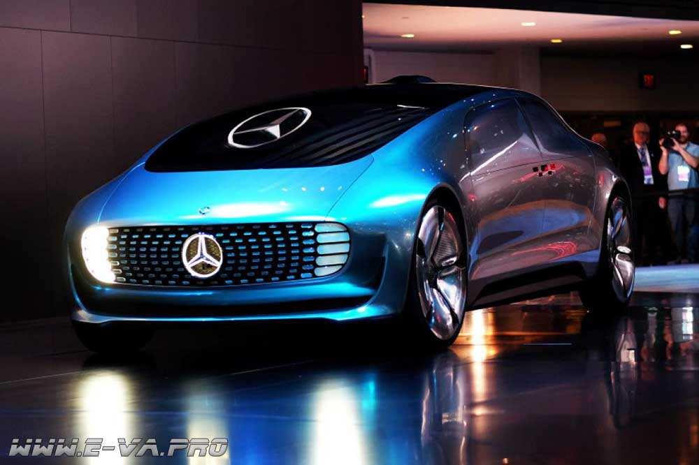Электромодель Daimler