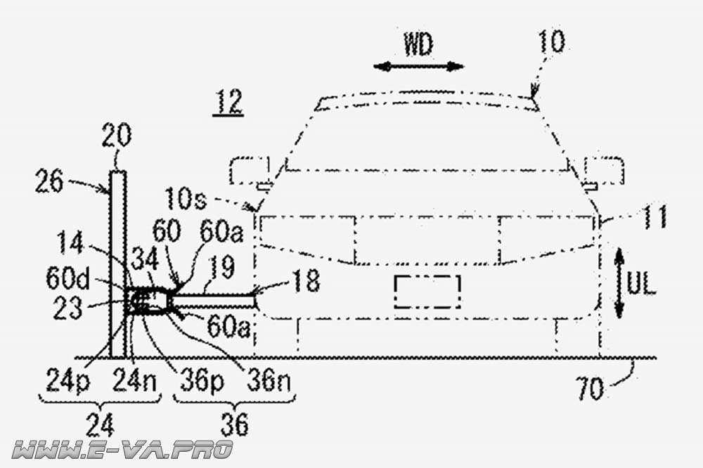Honda зарегистрировала патент на контактный рельс для зарядки электрокаров на ходу
