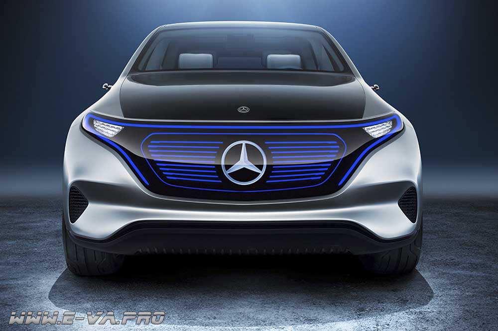 Компания Mercedes-Benz представила концепт нового электромобиля