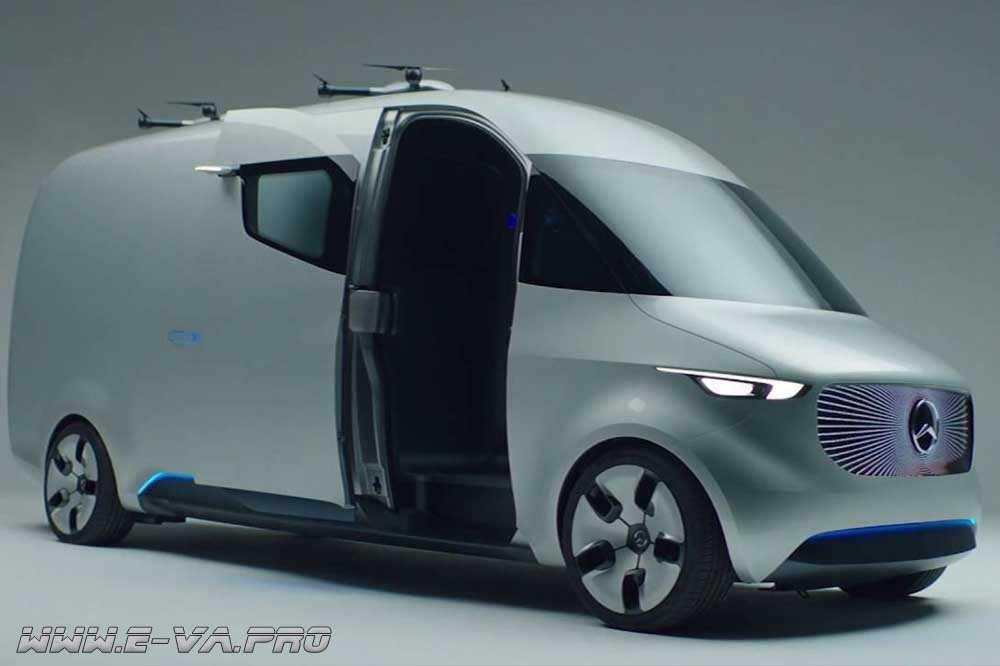 Mercedes-Benz Vision Van – будущее грузоперевозок