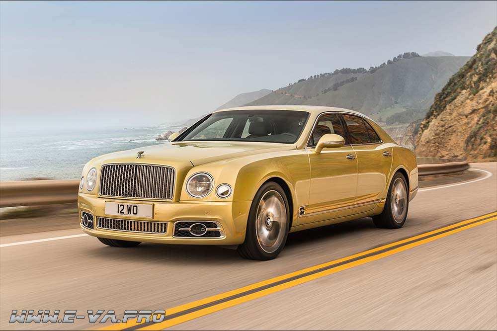 Bentley сделает Mulsanne электрическим для Китая