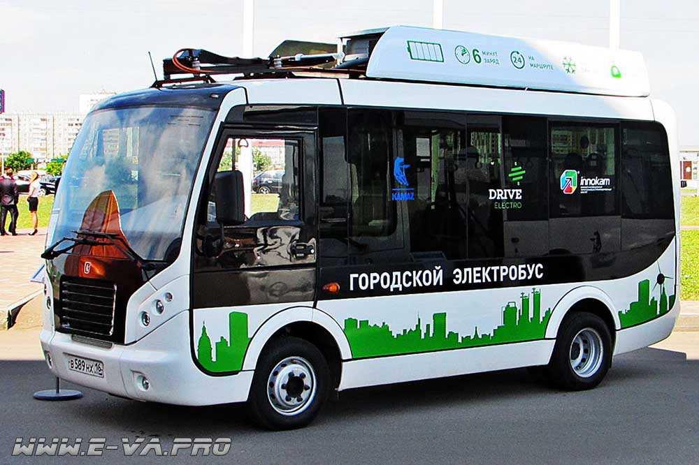 На базе «КАМАЗа» планируют выпускать электробусы