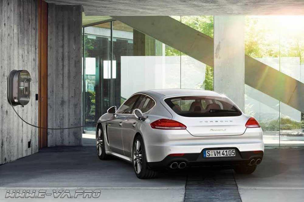 Porsche Turbo: единая сеть быстрых зарядных станций
