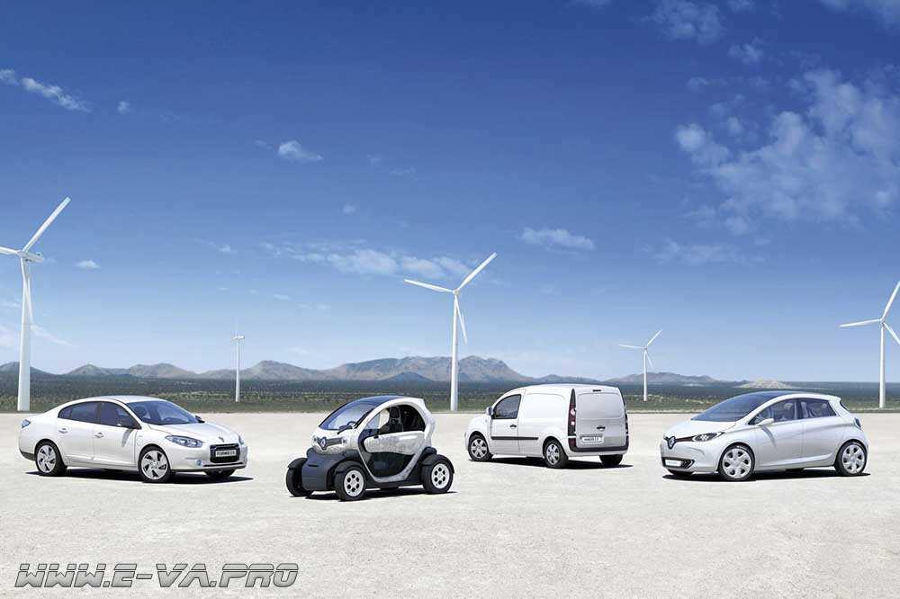 Продажи частным лицам электромобилей Renault стартовали в России.