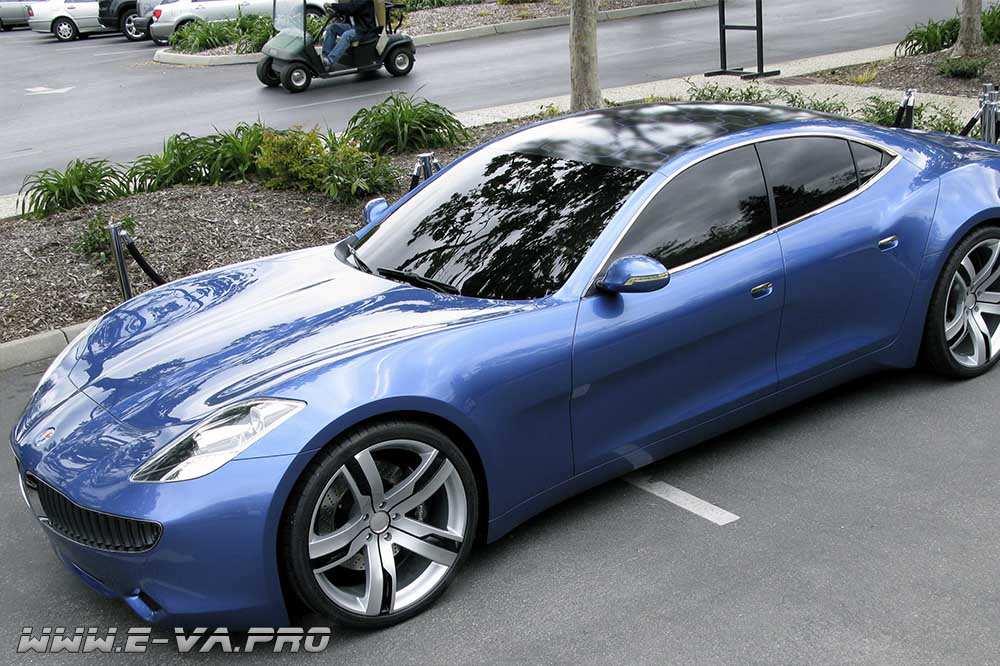 Солнечная батарея на крыше и электромобиль класса люкс? Возможно.
