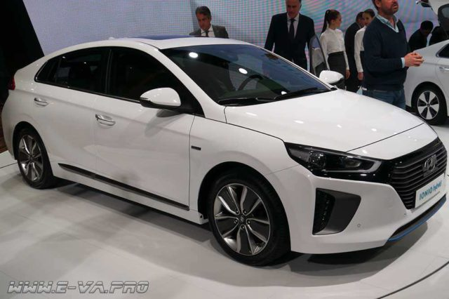 Электромобиль Hyundai IONIQ – скоро на дорогах