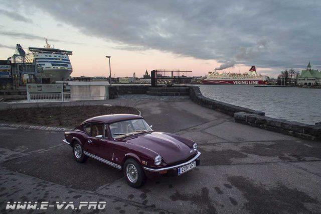 В Финляндии из раритетных автомобилей делают электромобили