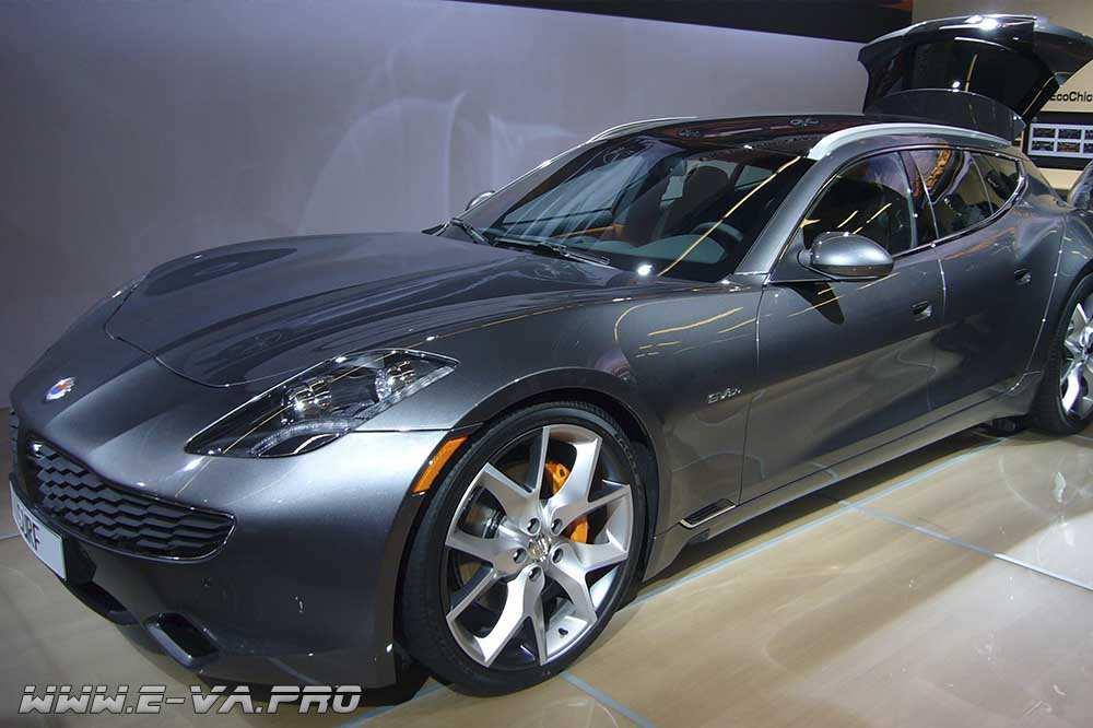 Новый электромобиль от Fisker Inc. Будет оснащен гибридными графеновыми накопителями энергии.
