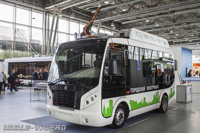 Российский прообраз беспилотного электробуса