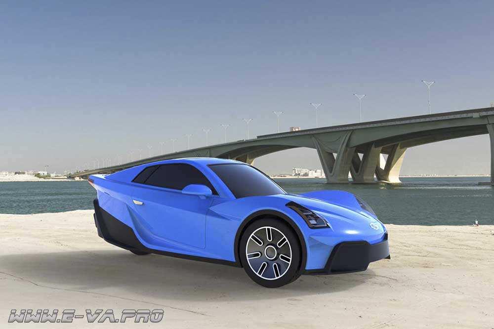 Sondors eCar – электромобиль всего за 10000$