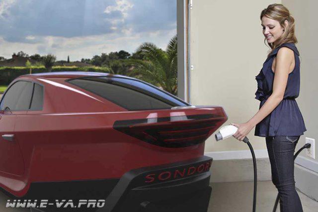 Sondors eCar - электромобиль всего за 10000$