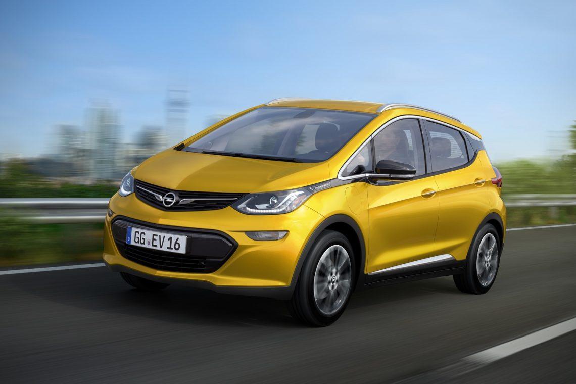 Новинка – Opel Ampera-e