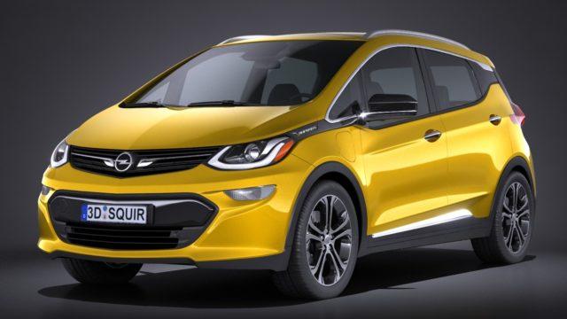 Новинка - Opel Ampera-e