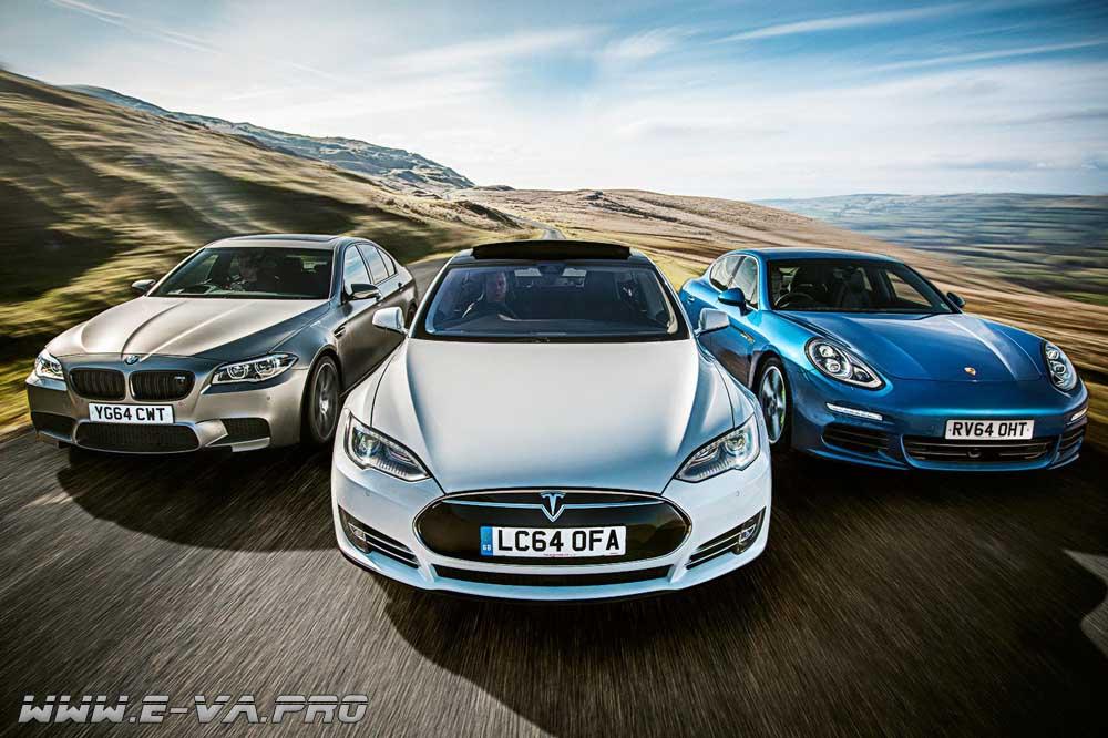 Рейтинг Consumer Reports: первое место занимает Tesla