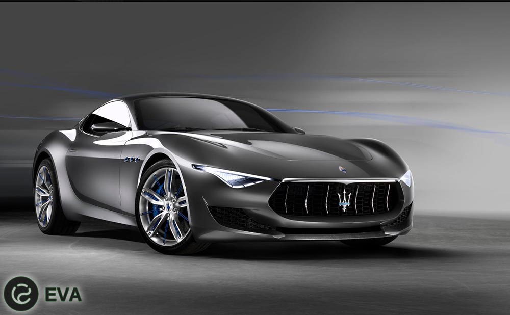 Alfieri- электрокар от компании Maserati.