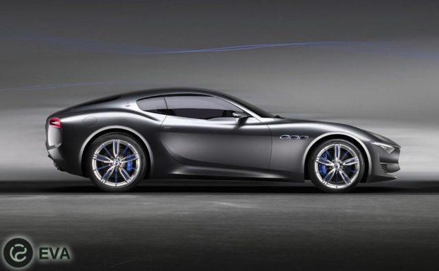 Alfieri - электрокар от компании Maserati.