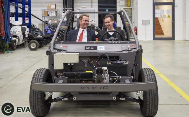 E.GO Mobile AG и Bosch вместе будут работать в области электромобилестроения