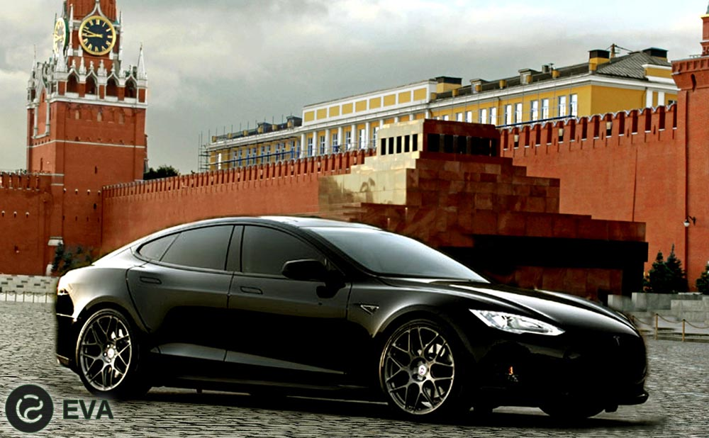 Tesla poiavitsia na rossii`skom ry`nke. Teper` uzhe ofitcial`no.