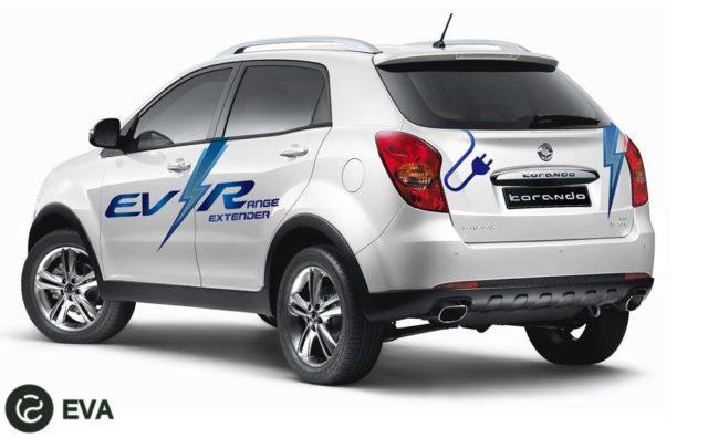 E`lektrifikatciia avtomobilei` SsangYong