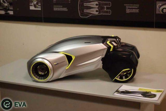 Новый концепт электромобиля от Lada - L-Ego