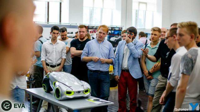 Академия Штиглица - место, в котором готовят транспортных дизайнеров уровня Глеба Данилова, автора нового концепта Lada