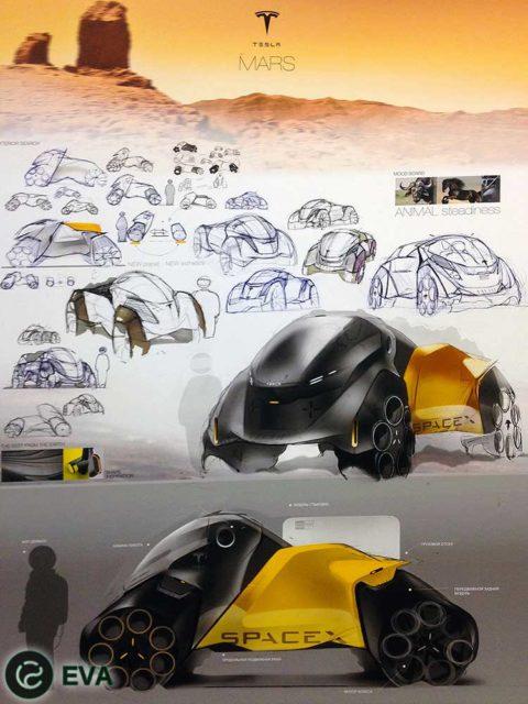 проект далекого будущего - концепт марсохода, разработанный в Академии имени Штиглица