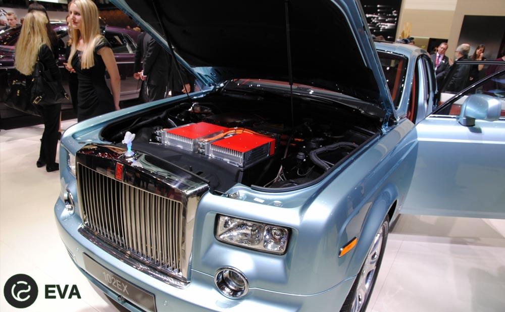 Rolls-Royce не видят смысла производить гибриды