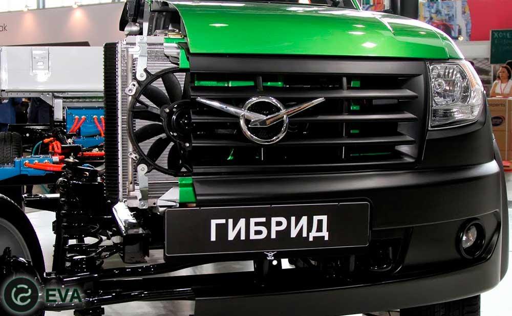 УАЗ создал свой первый гибридный электромобиль