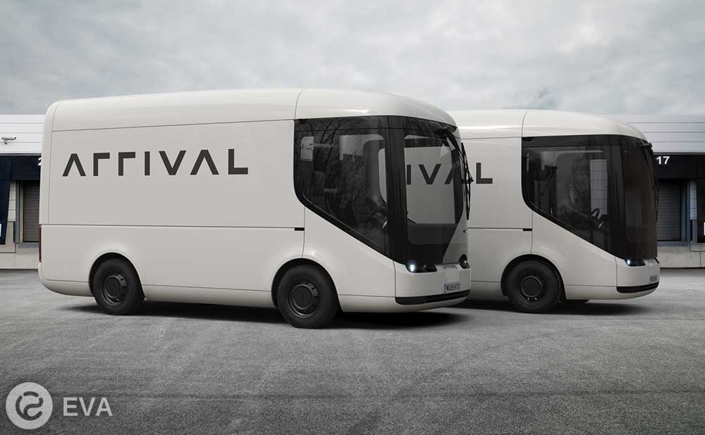 Что представляют из себя электрогрузовики Arrival для Royal Mail?