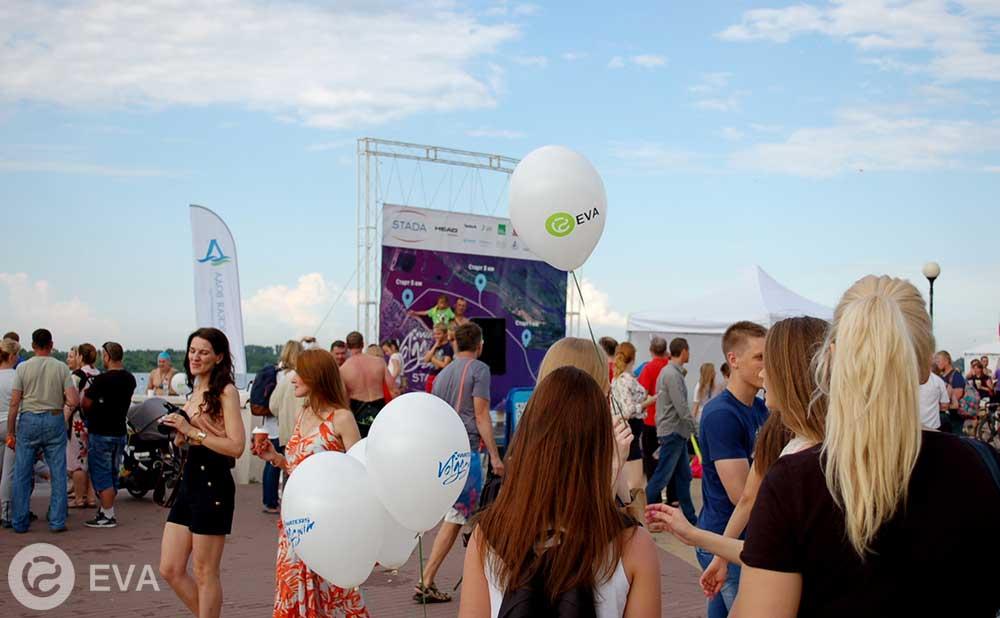 Компания EVA на фестивале Volga Swim-2017