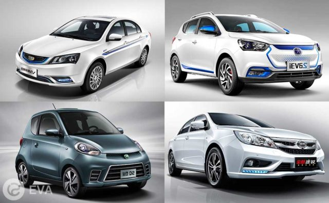 Топ-5 ведущих электромобилей Китая, которые пока почти не известны за его пределами