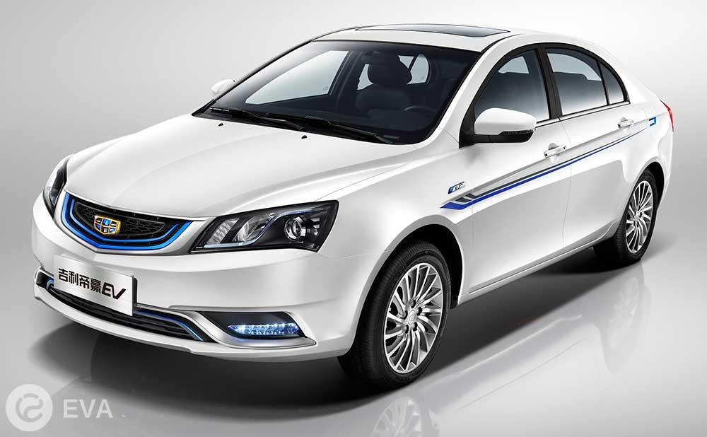 Топ-5 ведущих электромобилей Китая. Четвертое место – Geely Emgrand EV