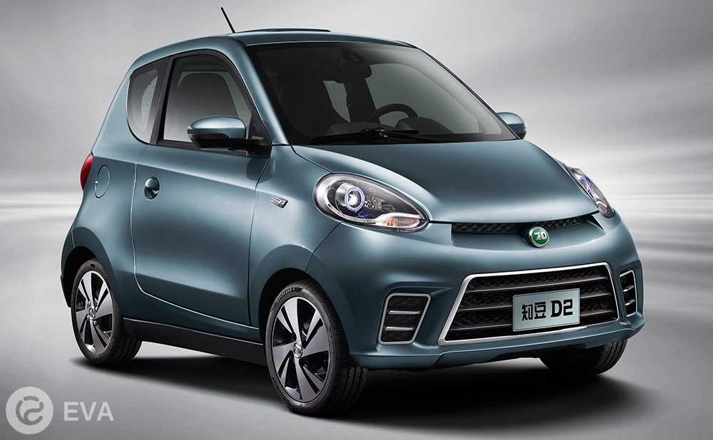 Топ-5 ведущих электромобилей Китая. Третье место – Zhidou D2 EV