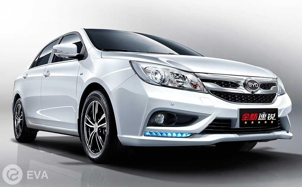 Топ-5 ведущих электромобилей Китая. Второе место – BYD e5