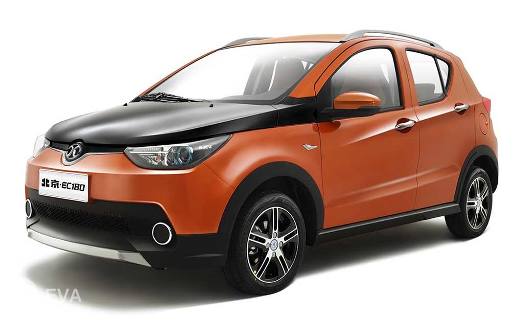 Топ-5 ведущих электромобилей Китая. Первое место – BJEV EC180