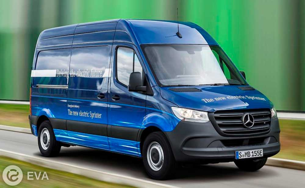электрофургон mercedes esprinter