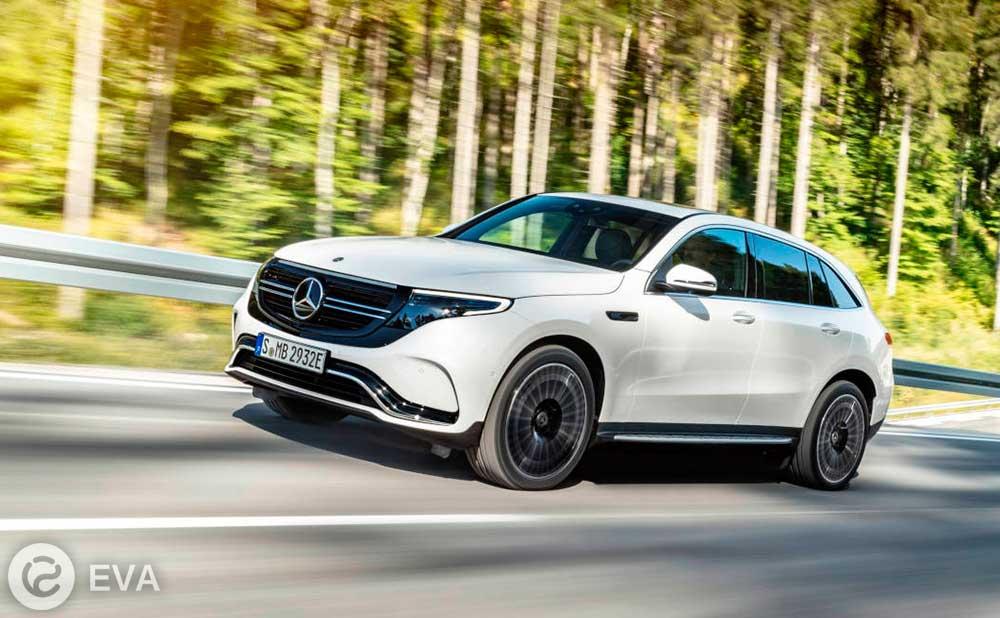 Электрокроссовер Mercedes EQC