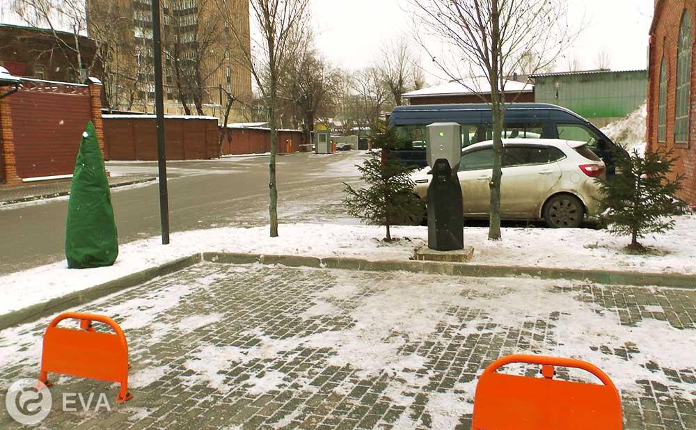 электрозаправка Ева в Москве